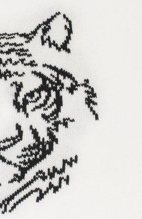 Детские хлопковые носки LA PERLA белого цвета, арт. 42375/9-12 | Фото 2