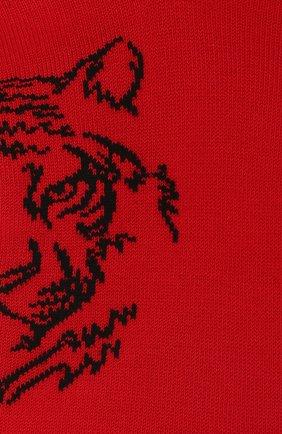 Детские хлопковые носки LA PERLA красного цвета, арт. 42375/9-12 | Фото 2