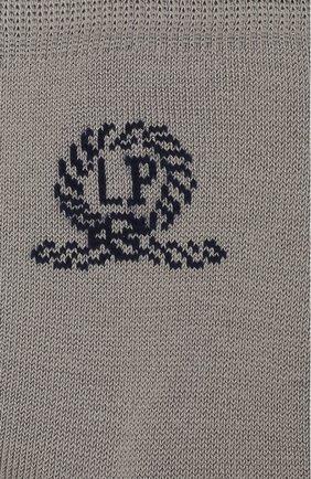 Детские хлопковые носки LA PERLA серого цвета, арт. 42035/7-8 | Фото 2