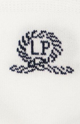 Детские хлопковые носки LA PERLA белого цвета, арт. 42035/3-6 | Фото 2