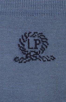 Детские хлопковые носки LA PERLA синего цвета, арт. 42035/3-6 | Фото 2