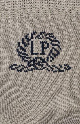 Детские хлопковые носки LA PERLA серого цвета, арт. 42035/1-2 | Фото 2