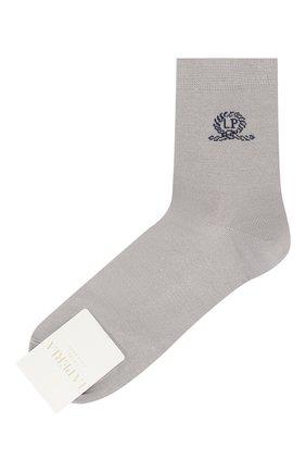 Детские хлопковые носки LA PERLA серого цвета, арт. 42035/9-12 | Фото 1