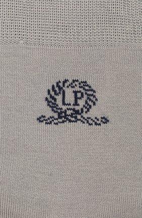 Детские хлопковые носки LA PERLA серого цвета, арт. 42035/9-12 | Фото 2