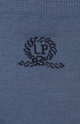 Детские хлопковые носки LA PERLA синего цвета, арт. 42035/9-12 | Фото 2