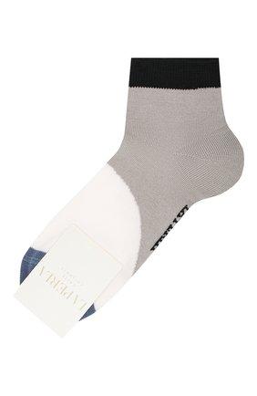 Детские хлопковые носки LA PERLA серого цвета, арт. 42033/7-8 | Фото 1