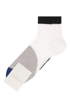 Детские хлопковые носки LA PERLA белого цвета, арт. 42033/7-8 | Фото 1