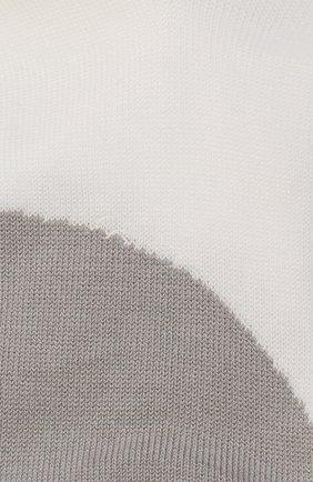 Детские хлопковые носки LA PERLA белого цвета, арт. 42033/7-8 | Фото 2