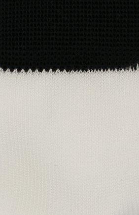Детские хлопковые носки LA PERLA белого цвета, арт. 42033/3-6 | Фото 2