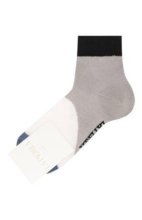 Детские хлопковые носки LA PERLA серого цвета, арт. 42033/3-6 | Фото 1