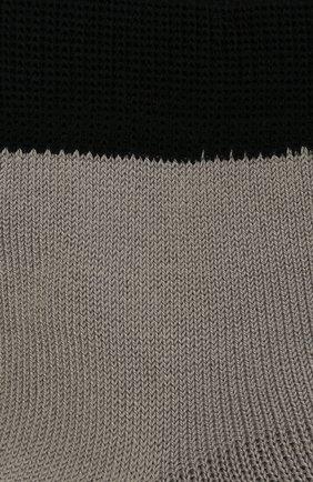 Детские хлопковые носки LA PERLA серого цвета, арт. 42033/3-6 | Фото 2