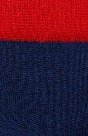 Детские хлопковые носки LA PERLA синего цвета, арт. 42033/3-6 | Фото 2