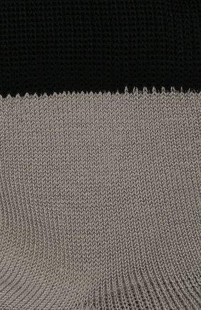 Детские хлопковые носки LA PERLA серого цвета, арт. 42033/1-2 | Фото 2