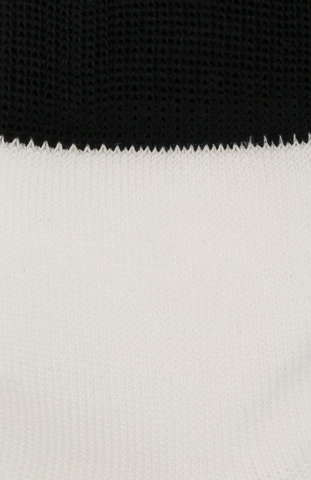 Детские хлопковые носки LA PERLA белого цвета, арт. 42033/1-2   Фото 2
