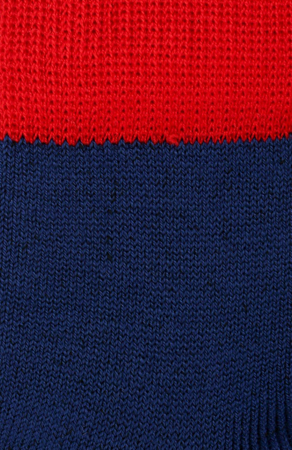 Детские хлопковые носки LA PERLA синего цвета, арт. 42033/1-2 | Фото 2 (Материал: Текстиль, Хлопок)