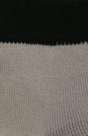 Детские хлопковые носки LA PERLA серого цвета, арт. 42033/9-12 | Фото 2