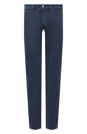 Мужские джинсы LORO PIANA синего цвета, арт. FAG1329 | Фото 1
