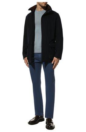 Мужские джинсы LORO PIANA синего цвета, арт. FAG1329 | Фото 2