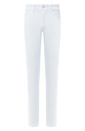 Мужские джинсы LORO PIANA светло-голубого цвета, арт. FAG1329 | Фото 1