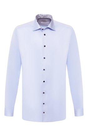 Мужская хлопковая сорочка ETON голубого цвета, арт. 1000 00549 | Фото 1