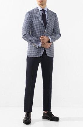 Мужская хлопковая сорочка ETON голубого цвета, арт. 1000 00549 | Фото 2