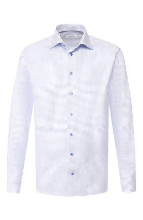 Мужская хлопковая сорочка ETON голубого цвета, арт. 1000 00464 | Фото 1