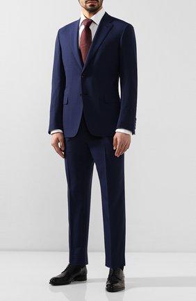 Мужской шерстяной костюм BRIONI синего цвета, арт. RA0J1R/P9A2A/BRUNIC0 | Фото 1