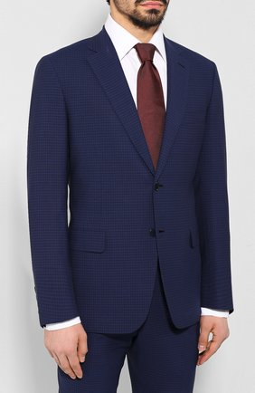 Мужской шерстяной костюм BRIONI синего цвета, арт. RA0J1R/P9A2A/BRUNIC0 | Фото 2