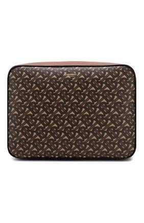 Мужская сумка BURBERRY коричневого цвета, арт. 8022188 | Фото 1