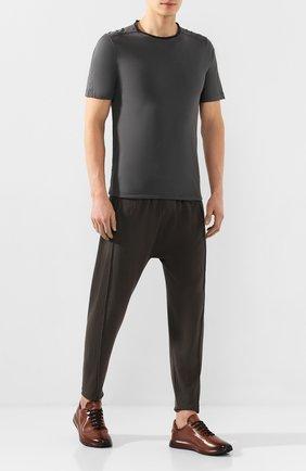 Мужские кожаные кроссовки OFFICINE CREATIVE коричневого цвета, арт. RACE/017/AER0 BUTTER0 | Фото 2