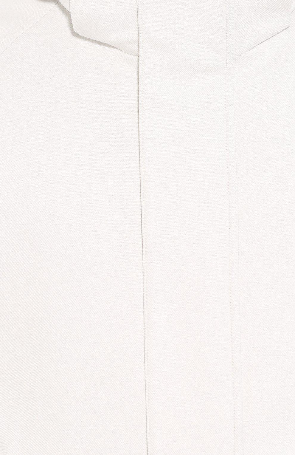 Мужская куртка из кашемира и шелка LORO PIANA белого цвета, арт. FAI8953 | Фото 5
