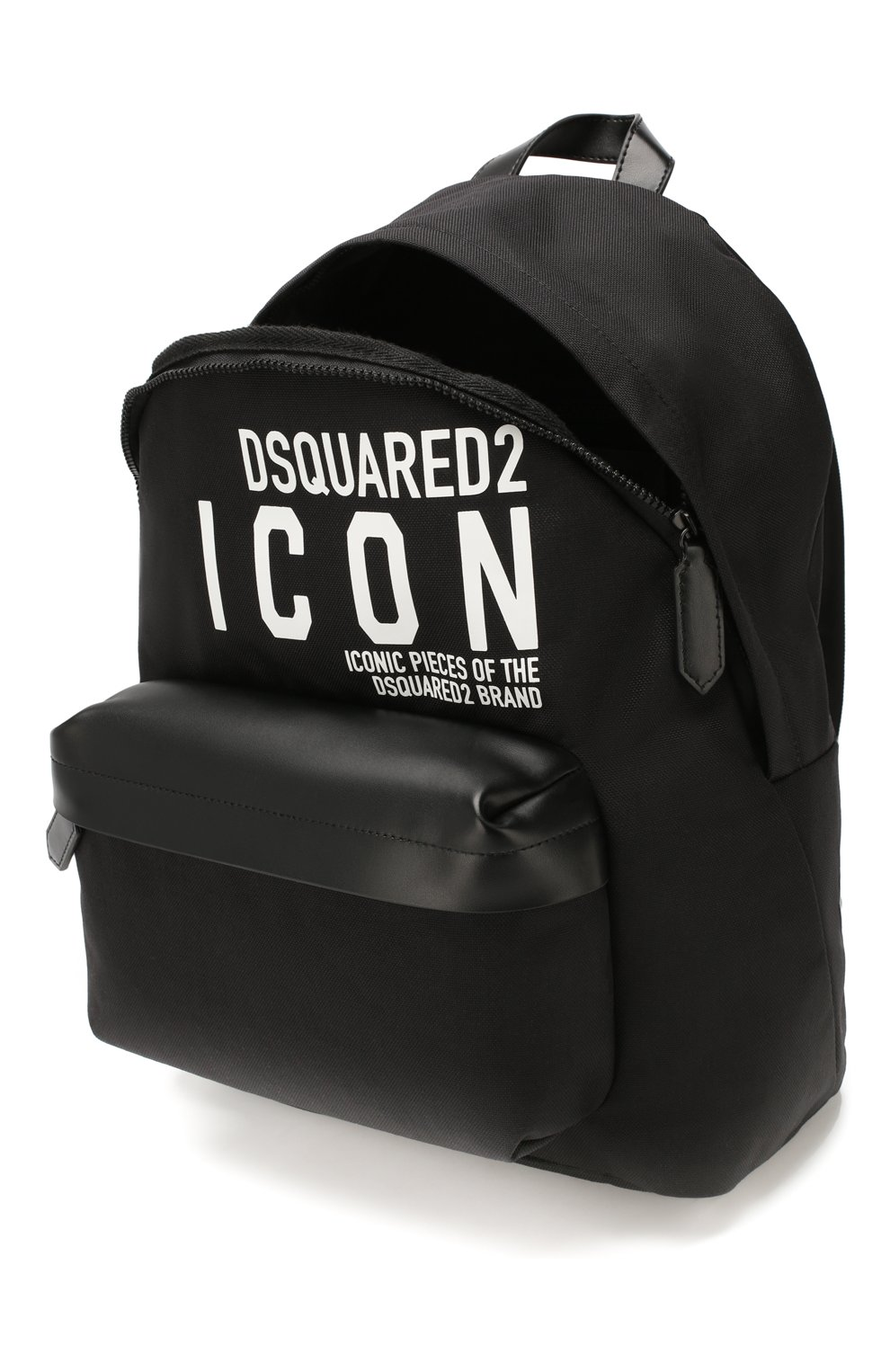 Мужской текстильный рюкзак DSQUARED2 черного цвета, арт. BPM0019 11702649 | Фото 4