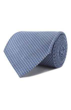 Мужской комплект из галстука и платка BRIONI голубого цвета, арт. 08A900/P942F   Фото 1
