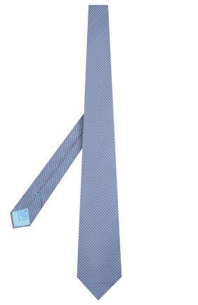 Мужской комплект из галстука и платка BRIONI голубого цвета, арт. 08A900/P942F   Фото 2