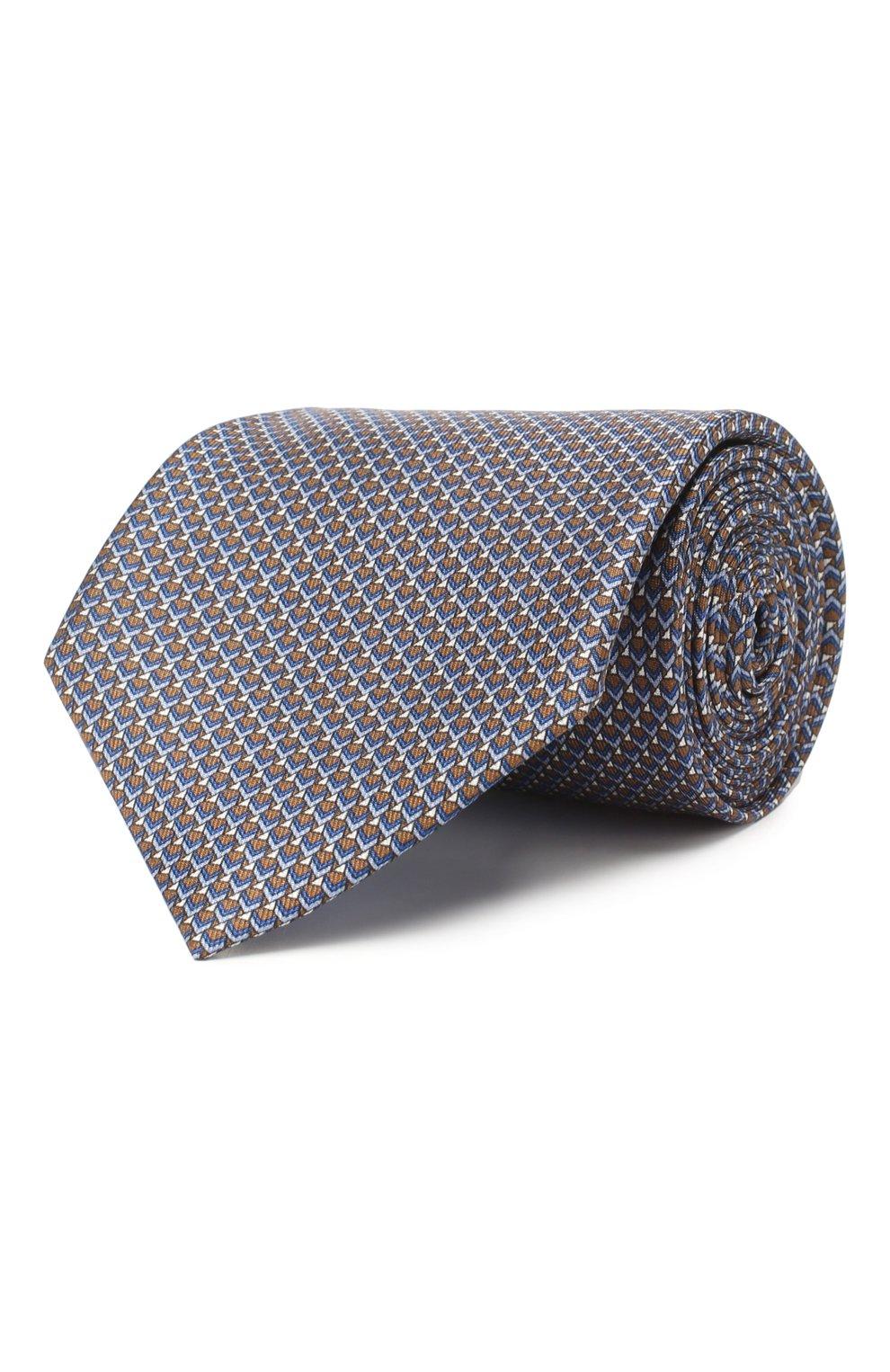 Комплект из галстука и платка   Фото №1