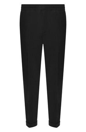 Мужской брюки NEIL BARRETT черного цвета, арт. PBPA635/N028 | Фото 1