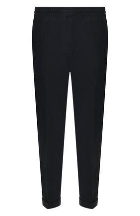 Мужской брюки NEIL BARRETT темно-синего цвета, арт. PBPA635/N028   Фото 1
