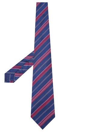 Мужской шелковый галстук KITON синего цвета, арт. UCRVKLC02G27 | Фото 2