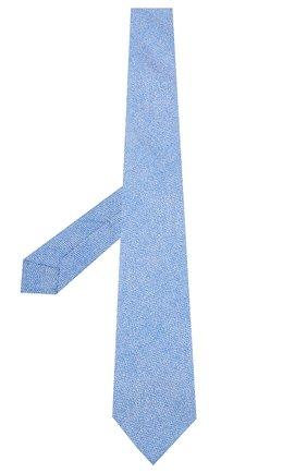 Мужской шелковый галстук KITON светло-голубого цвета, арт. UCRVKLC02G80 | Фото 2
