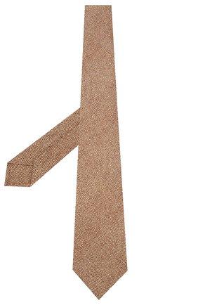 Мужской шелковый галстук KITON коричневого цвета, арт. UCRVKLC02G80 | Фото 2