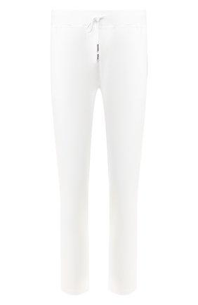 Мужские хлопковые брюки KITON белого цвета, арт. UK1051 | Фото 1