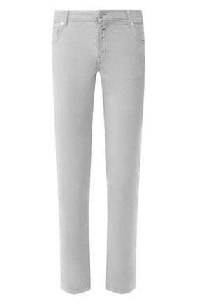 Мужские брюки KITON серого цвета, арт. UPNJSJ07S73   Фото 1