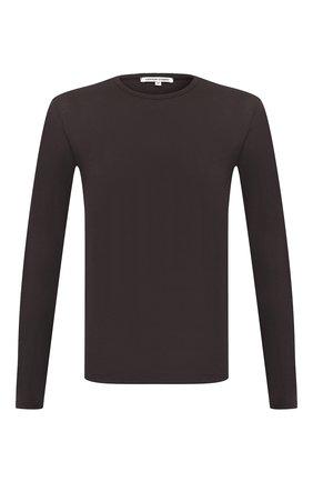 Мужская хлопковый лонгслив COTTON CITIZEN темно-серого цвета, арт. M70011 | Фото 1