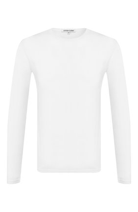 Мужская хлопковый лонгслив COTTON CITIZEN белого цвета, арт. M70011 | Фото 1