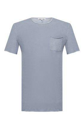 Мужская хлопковая футболка COTTON CITIZEN голубого цвета, арт. M602715 | Фото 1