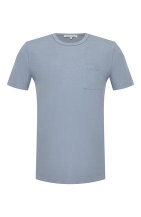 Мужская хлопковая футболка COTTON CITIZEN голубого цвета, арт. M6003105 | Фото 1