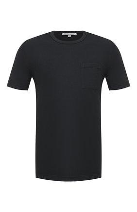 Мужская хлопковая футболка COTTON CITIZEN темно-синего цвета, арт. M6003105 | Фото 1