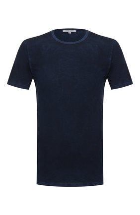 Мужская хлопковая футболка COTTON CITIZEN темно-синего цвета, арт. M60011 | Фото 1