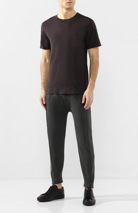 Мужская хлопковая футболка COTTON CITIZEN темно-серого цвета, арт. M60011 | Фото 2