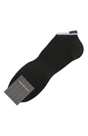 Мужские носки ERMENEGILDO ZEGNA черного цвета, арт. N5V023120 | Фото 1